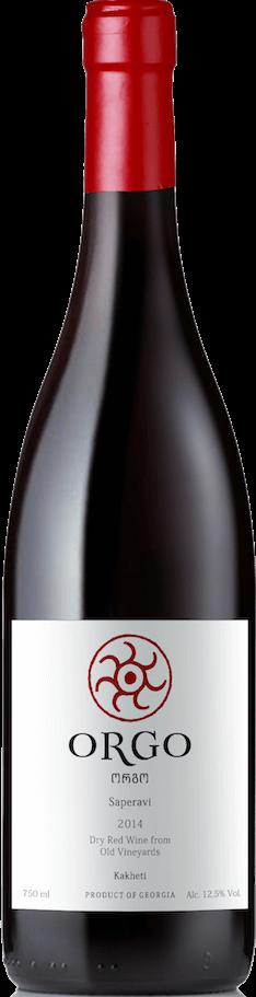 Saperavi 2017 Orgo Georgia Kakheti 90 Points Wine Spirits Magazine