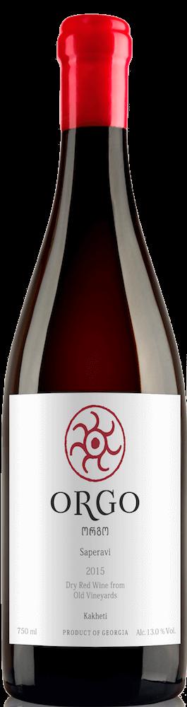 Saperavi 2017 Orgo Georgia Kakheti 90 Points Wine Enthusiast